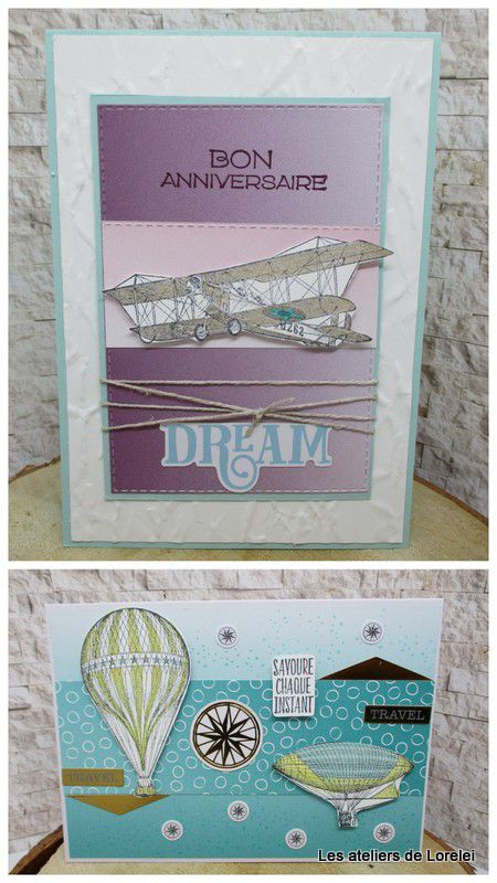 """""""Soar confidently"""" chez Stampin'Up!"""