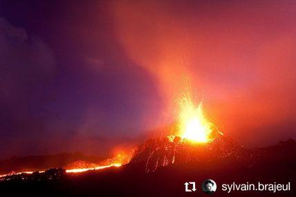 Éruption Du 14 Au 31 Octobre 2010