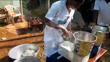 """Togo / Invention - Le """"Foufoumix"""" : la machine à faire du foufou"""
