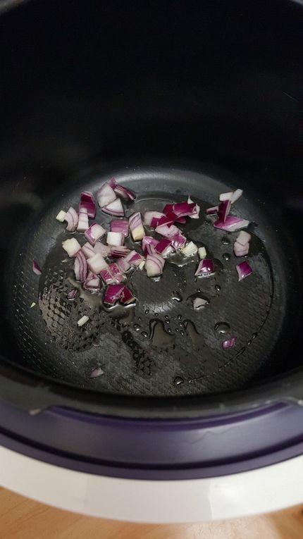 Sauté de porc au miel et curcuma cookéo