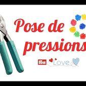 TUTO #10 : Pose de boutons pressions en plastique (Pince Prym Vario Love)