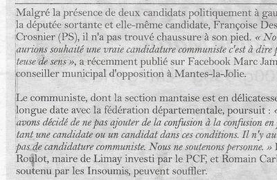 La gazette des Yvelines. Législatives. Nous ne soutenons aucun candidat