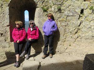Séjour Cathares : Mardi 3 Mai - Visite des chateaux