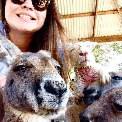 Marion Goes To Australia