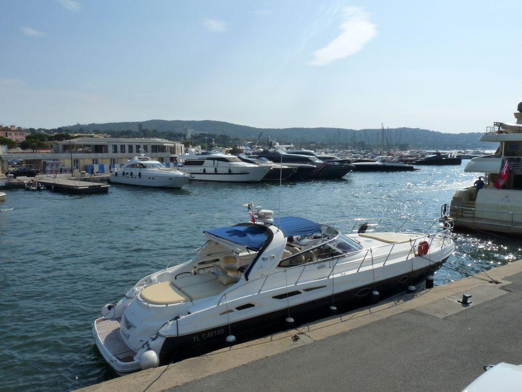 DIXIT , à quai dans le port de Saint Tropez le 18 Septembre 2016