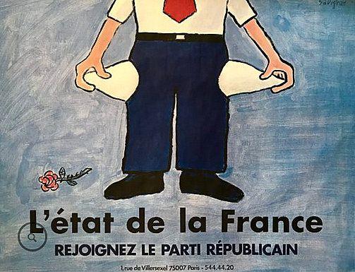 PUBLICITES : LES  GRANDS  NOMS  DE  L'AFFICHE...     Raymond  SAVIGNAC     (PARTIE 2)