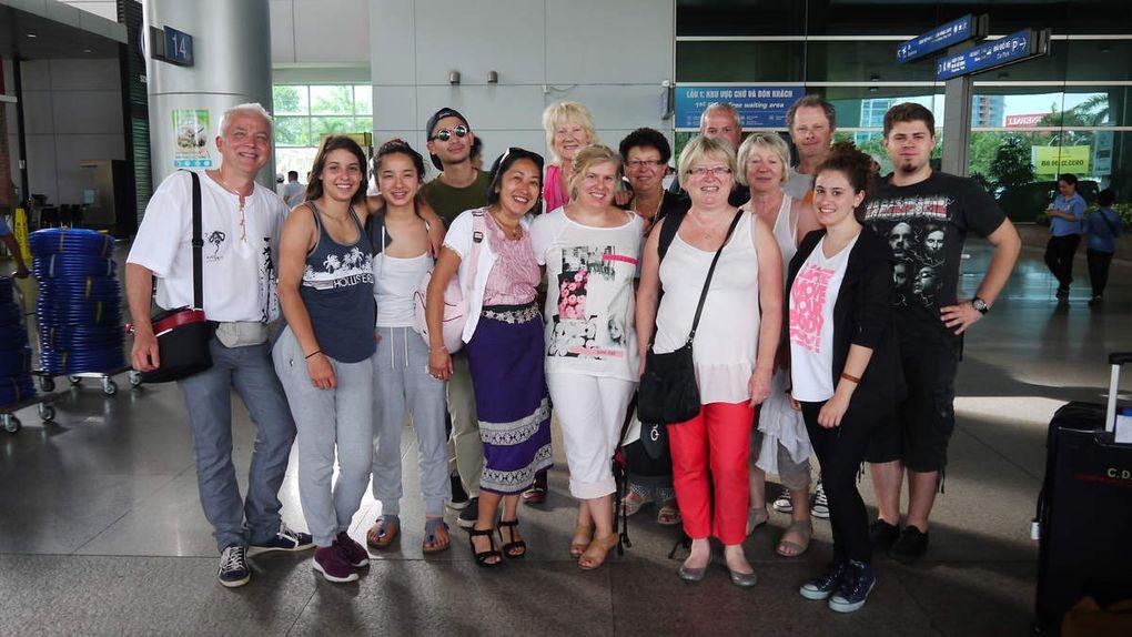 Arrivée à Saïgon, Hô Chi Minh Ville le 10 juillet à 15h environ..Notre guide Tung.