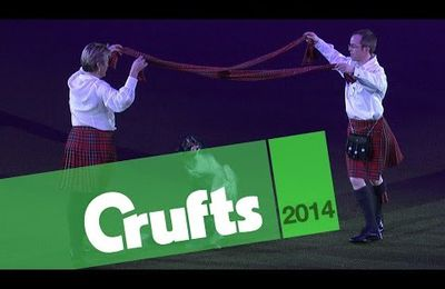 CRUFTS 2014 .....Mary RAY ....of Course !