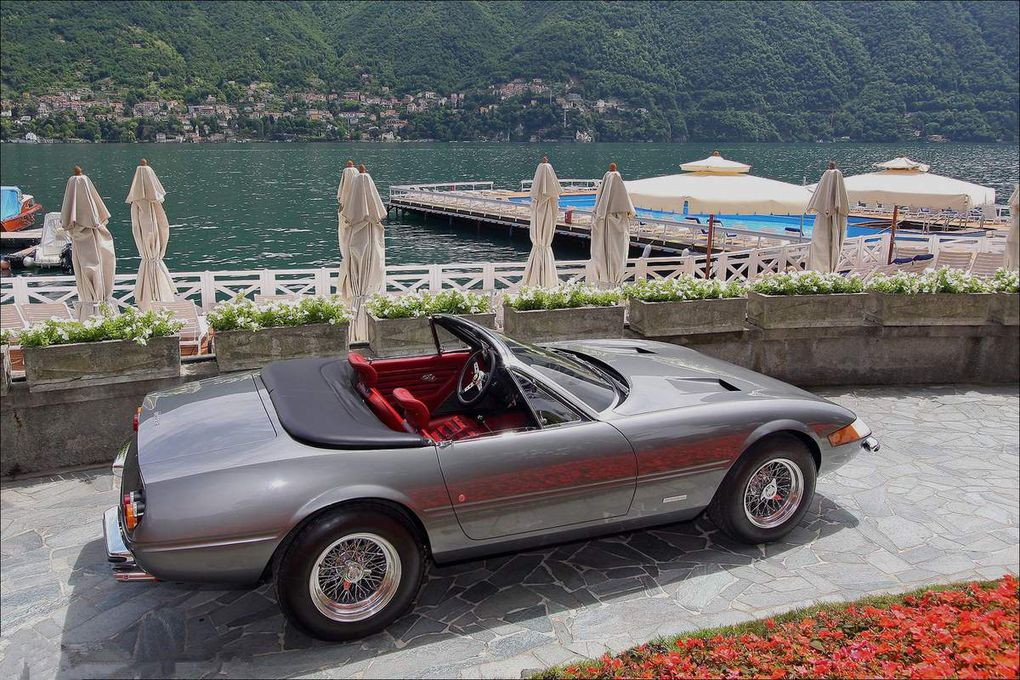 VOITURES DE LEGENDE (538) : FERRARI  365 GTS/4  DAYTONA SPYDER - 1972