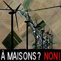Pas d'éoliennes à Maisons