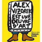 """Alex Vizorek- """"Alex Vizorek est une oeuvre d'art"""" - Critique Humoristes"""