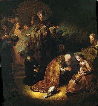 28 Dicembre : inizio della Novena ai Santi Magi (termina il 5 Gennaio)