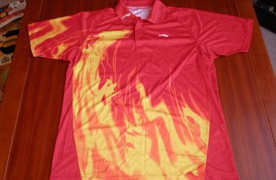 MAILLOT TENNIS DE TABLE LI NING DRAGON