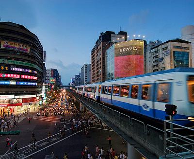 Taipei pas comme les autres: Le métro