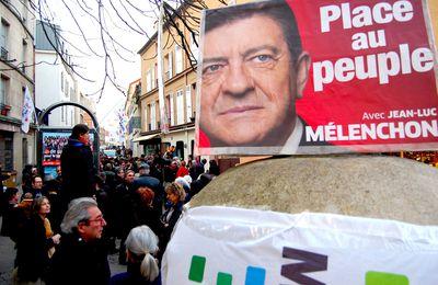 Retour en images sur la venue de Jean-Luc Mélenchon à Montreuil