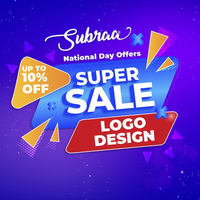 National Day Deals 2020 Logo Design and Web Design Services Offered by Subraa Freelance Logo Designer Singapore