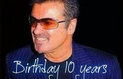 GEORGE MICHAEL MY FRIEND - DEJA 10 ANS POUR LE BLOG !!