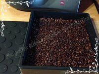 Bavarois fraise et chocolat sur base croustillante
