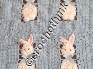 couverture lapin finie
