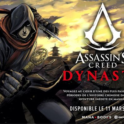 Mana Books annonce le manga Assassin's Creed Dynasty