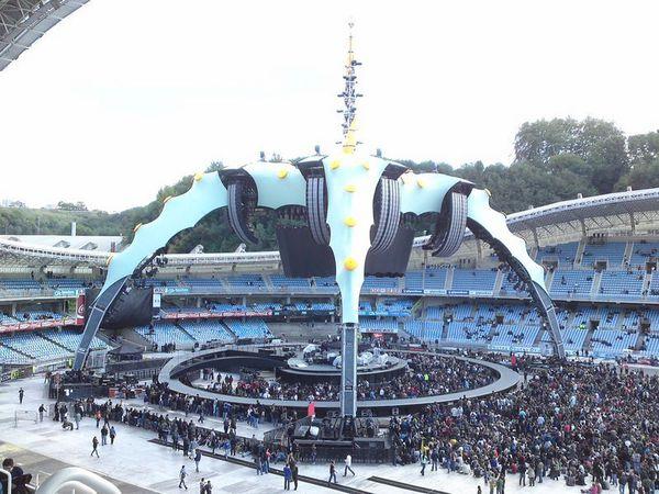 U2 -San Sebastian  -Espagne 26/09/2010 -Anoeta Stadium