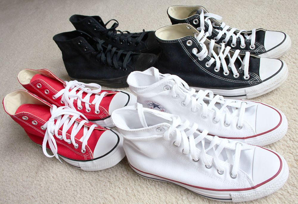 MY CONVERSE SNEAKER COLLECTION!