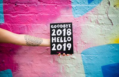 Goodbye 2018 - Welcome 2019 - Wallpaper - Free