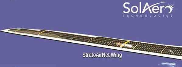 """SolAero: Delivery of the first solar wing for Bye Aerospace's """"StratoAirNet"""""""