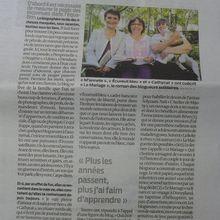 """Le Mariage, sur """"les petites routes du bonheur"""" de Christian Seguin..."""