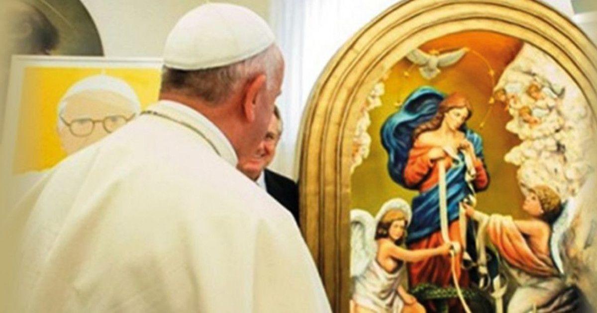 Le commanditaire de l'ex-voto diffusé par Bergoglio dans le monde entier appartenait à une société pro-maçonnique