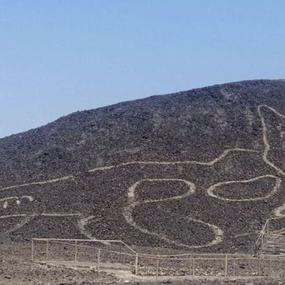 Presse aidant ..... Le mystère des lignes de Nazca