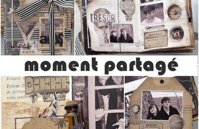 """Tutoriel livre altéré """"Moment Partagé"""""""