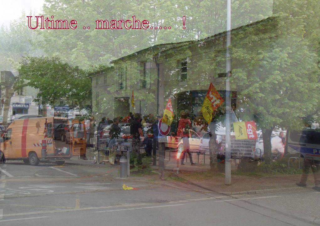 30 - Député J-P Ardouin en Marche face aux cheminots. Pyrale attaque Buis. Bleuet de France. UNICEF. Chorale au temple.