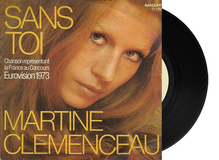 "15th - France - Martine Clémenceau ""Sans Toi"" (65 points)"