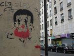 Betty Boop à Paris, street-art