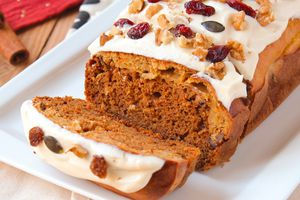 Carrot Cake aux Noix & Fruits Secs