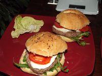 Hamburgers Goût du Sud avec Pain Maison