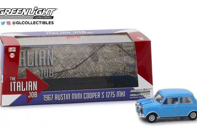 "1/43 : Les 3 Mini du film ""The Italian Job"" en miniature"