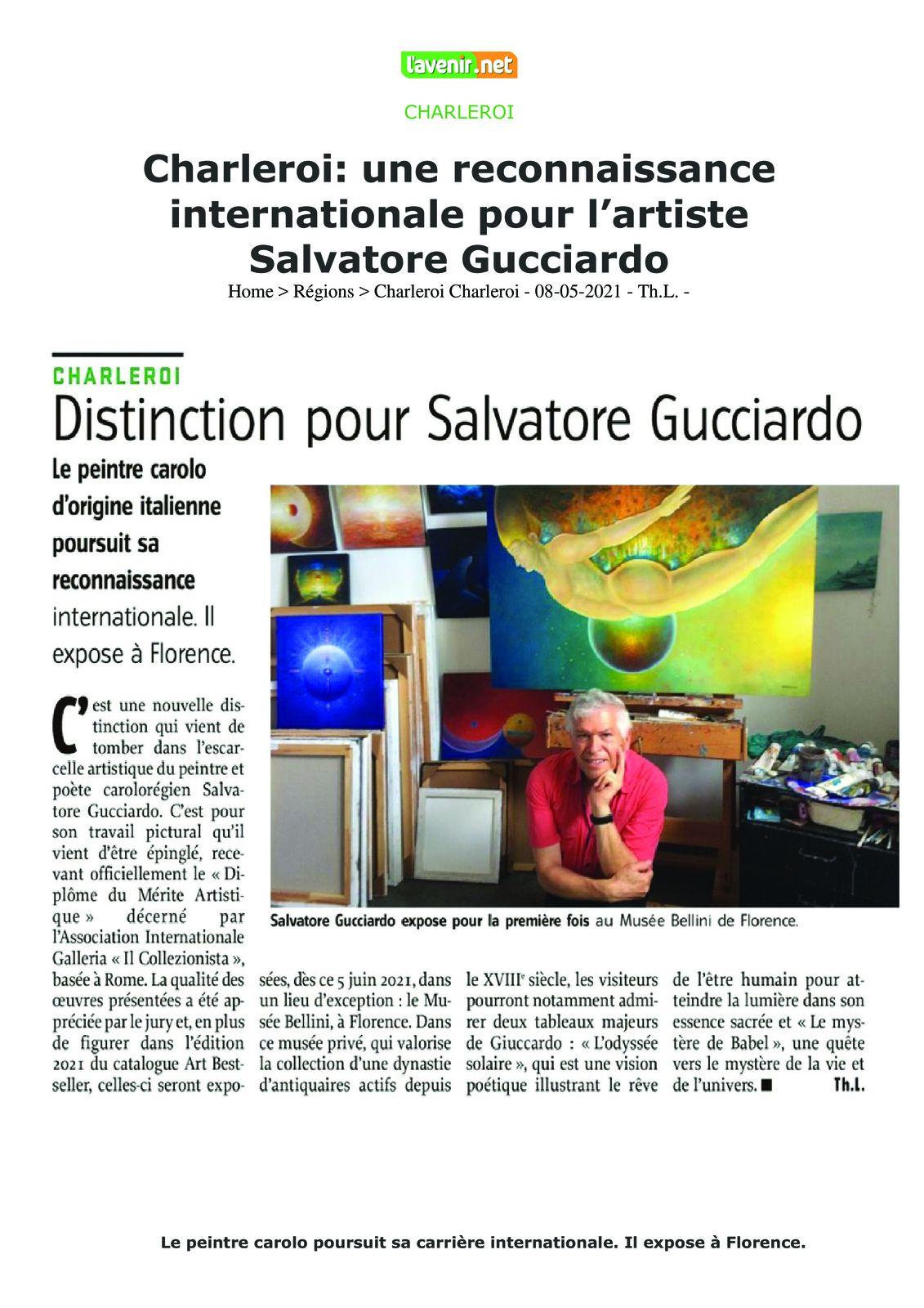 Deux articles pour Salvatore Gucciardo !