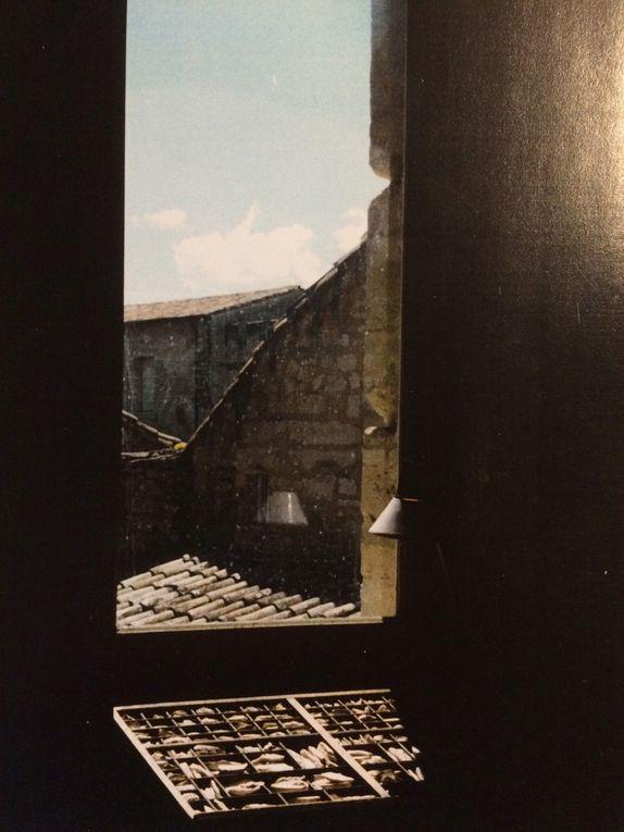 Hameçons -Projet d'écriture n°2- Parures- Propos lapidaires, Chartreuse Villeneuve lez Avignon, 1996