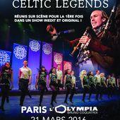 Carlos Nunez et Celtic Legends, la tournée française // Olympia le 21/03 / CHANSON MUSIQUE / ACTUALITES - BIEN LE BONJOUR D'ANDRE
