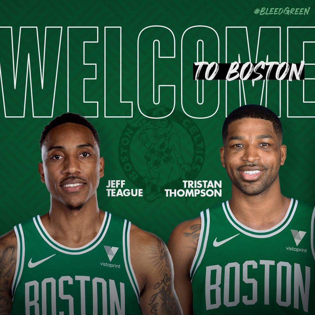Les Celtics officialisent la venue de Tristan Thompson et Jeff Teague
