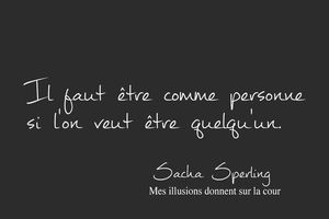 Sacha Sperling - 2 Citations