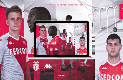 Lancement Maillot Home AS Monaco 2020-21