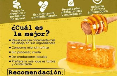 Come miel porque tiene todos estos beneficios