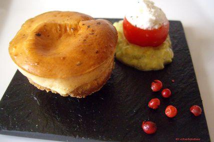 Bouchées Apéritif façon Cheesecake