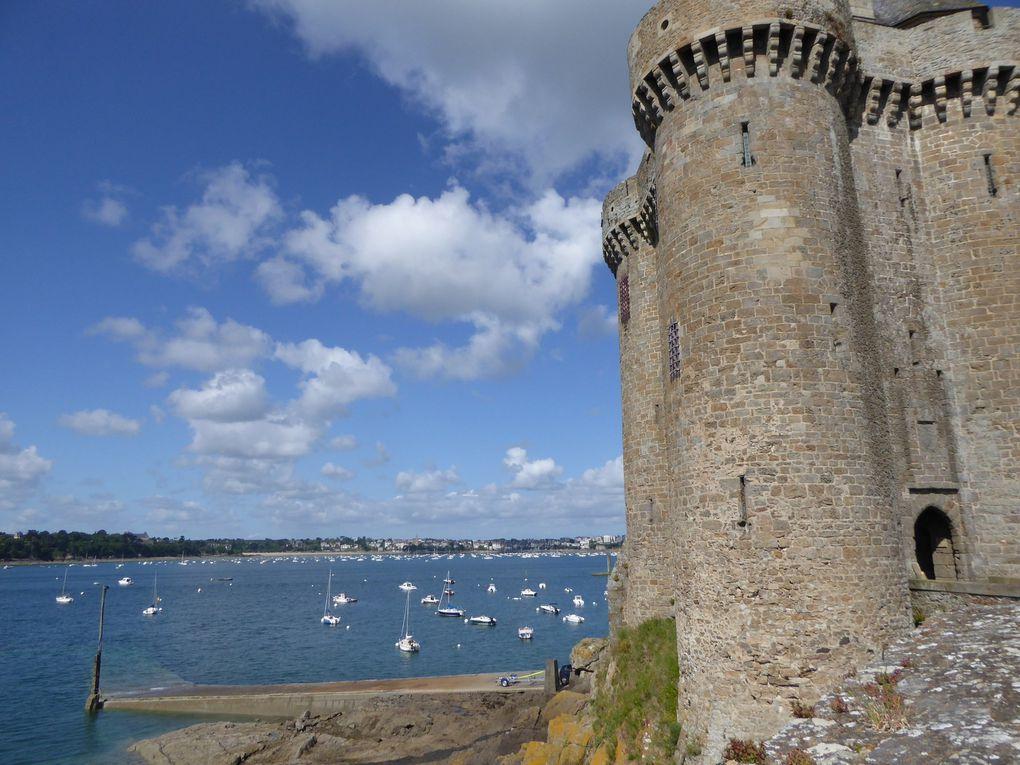 La Tour Solidor à Saint-Malo, mai 2015.