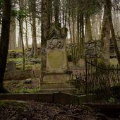 Le cimetière abandonné en Corrèze - Les Photos de Sébastien Colpin