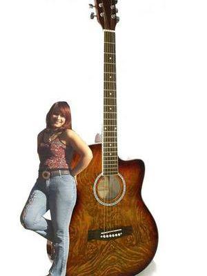 Poème sur la guitare: Mes doigts sur ma guitare