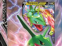 JCC  #Pokemon : sortie des Decks Combat-V de  #Rayquaza -V et  #Bruyverne -V
